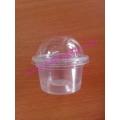 ถ้วยพลาสติกฝาโดม 3 ออนซ์(แถว)