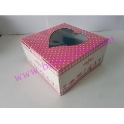 กล่องเค้ก 1/2 ปอนด์