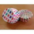 กระทงกระดาษลายหัวใจ