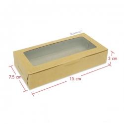 กล่องบราวนี่ 2 ชิ้น